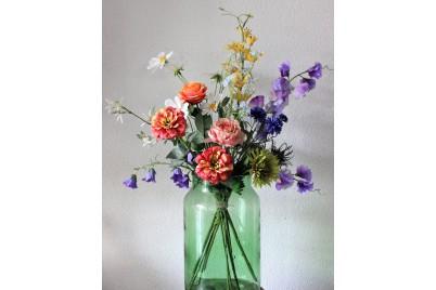 Veldboeket Gemengd - 80 cm hoog - Kunstbloemen